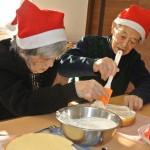 クリスマスケーキ作り2